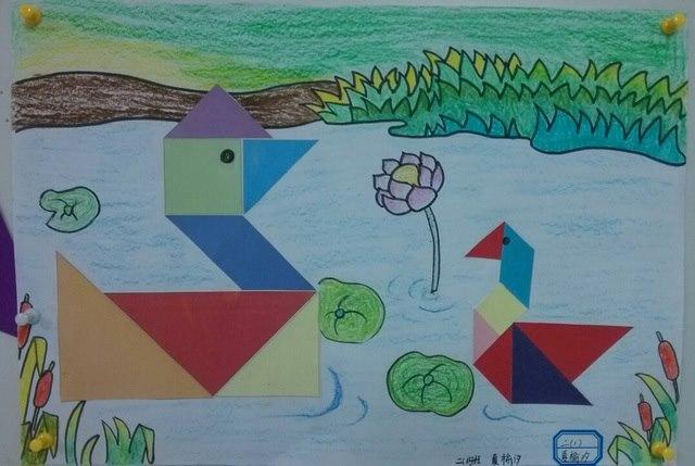 二年级学生金山画王作品-画房子-佛山市实验学校