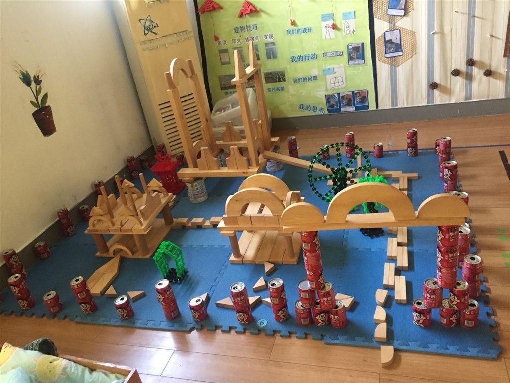 促进幼儿园建构游戏的深入开展,提升老师们建构能力和建构游戏的指导